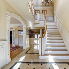 Stairway To Heaven, Wishful Thinking, Traditional House, Stairways, House Ideas, Interior Design, Color, Home Decor, Stairs