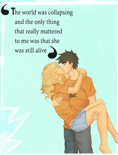 Nothing really mattered.   Percy Jackson Fan Art