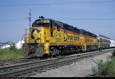 RailPictures.Net Photo: CO 3570 Chesapeake & Ohio (C&O) EMD GP35 at McCook, Illinois by Pete Greischar