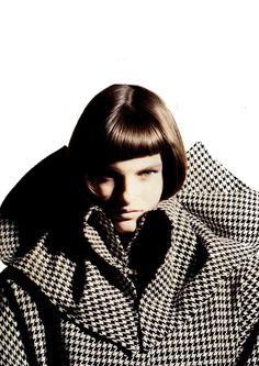 Linda by Giovanni Gastel Fall/Winter 1985.