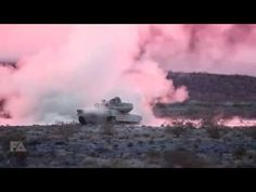 US Military M1 Abrams Tanks & AH-64 Apache Helicopters Unleash Hell During Massive Live Fire Action - YouTube