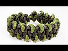 Paracord Bracelet Tutorial: Shimmering Mist Bracelet Design Without Buckle - YouTube