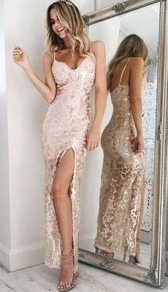 Charming Backless Prom Dresses ,Sexy prom Dress,Sheath Spaghetti