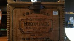 Yukon Jack Vintage Box. #restylechicago #reluxvintage https://www.instagram.com/p/BOsc2A3h6Lb/