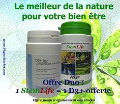 StemLife, un complément alimentaire avec une formule unique qui est une combinaison d'ingrédients entièrement naturels qui contient du Pycnogenol