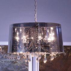 Sospensione PL-HILTON-S lampadario moderno cristallo interno  E14