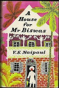 A House for Mr Biswas is a 1961 novel by V. S. Naipaul, significant as Naipaul's first work to achieve acclaim worldwide. It is the story of Mohun Biswas, an Indo-Trinidadian who continually strives for success and mostly fails, who marries into the Tulsi family only to find himself dominated by it, and who finally sets the goal of owning his own house.