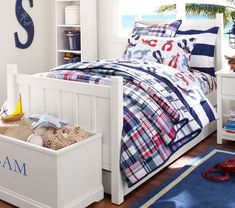 Camp Bed - Navy
