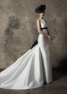 Vestido de fiesta largo Judy blanco Meryfor SS19