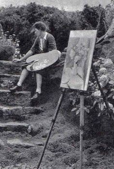 Dod Procter (Doris Margaret Shaw 1890-1972),wife of artist Ernest Proctor.