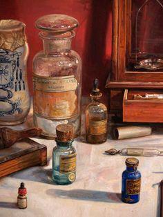 Still Life Brushstrokes Nature Morte Paintings - Antonio Capel