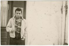 Jack Kerouac, Tangier, 1957, from Taking Shots: The Photography of William S. Burroughs | Excerptional jack kerouac