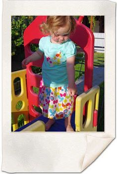 Easy Sew Toddler Skirt