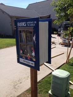 My Little Free Library!  It is a book!!!