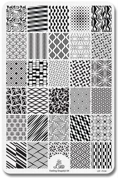 Lina Nail Art Supplies - Feeling Shapely! 04