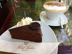 How to make the original 🍰Sacher Cake 🍰 from Vienna Tiramisu, Pudding, Candy, Cookies, Ethnic Recipes, Youtube, Food, Sweet Recipes, Sugar