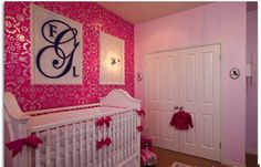 Baby's Room With her Monogram