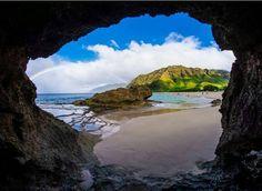 Makua Caves Waiane OAHU HAWAII