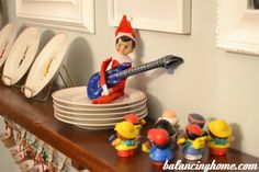 The Elf on the Shelf concert for Little People. Elf On The Shelf, Shelf Elf, Elf Goodbye Letter, Elf Letters, Elf Magic, Naughty Elf, Christmas Activities For Kids, Buddy The Elf, Christmas Elf