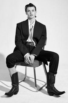 Cowboy Punks Publication: Vogue China October 2017 Model: EZ, Shujing Zhou, Cara Taylor Photographer: Collier Schorr Fashion Editor: Jacob K Hair: James Pecis Make Up: Kanako Takase PART I