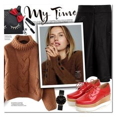 My Time by oshint on Polyvore featuring polyvore fashion style CLUSE Bobbi Brown Cosmetics Tag clothing
