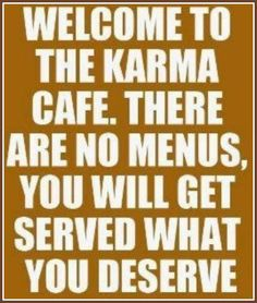 The karma cafe has been serving someone exactly what they deserve, and they don't like it!!!  I have been hugely amused by the whole reality slam they have been getting.