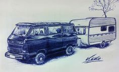 Todo sobre las volkswagen T3 - T25 - VANAGON: KekoCga, un gran artista