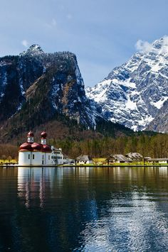 St. Bartholomew's Church, Berchtesgaden ,Berchtesgaden District of Bavaria in Germany.