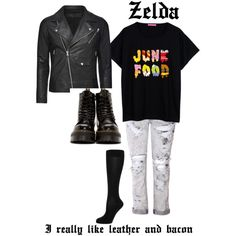 Um....I like this outfit it's so asparagus by zelda-kahtan on Polyvore featuring polyvore, fashion, style, Falke and Dr. Martens