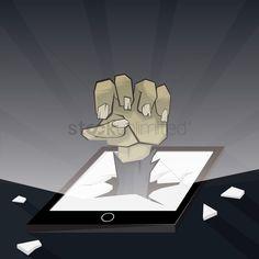 Zombie hand stock vector , #spon, #hand, #Zombie, #vector, #stock #affiliate