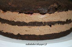 Tarun Taikakakut: Suklaatäyte 24-26cm täytekakkuun