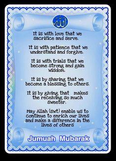 Jumma Mubarak Messages, Jumma Mubarak Images, Jumuah Mubarak Quotes, Jumma Mubarik, Islamic Dua, Muslim Quotes, Alhamdulillah, A Blessing, Morning Quotes