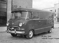 Seat 1400 furgón, 1955