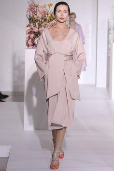 Jil Sander Wrap Coat Winter 2012