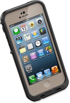 Life Proof Case for iPhone 5 in dark flat earth color,invest in your investments.