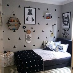 nordiskehjem's photo on Instagram Small Bedroom Designs, Small Room Bedroom, Girls Bedroom, Teen Room Decor, Home Decor Bedroom, Diy Room Decor, Toddler Bedroom Sets, Home Room Design, Girl Room