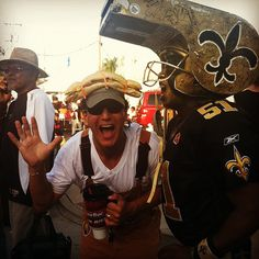 Whistle head! #Saints #whodat #nola