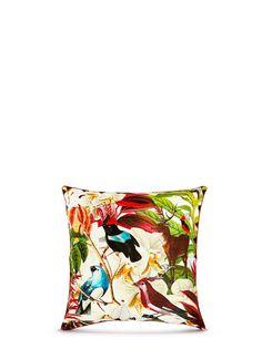 KRISTJANA S WILLIAMS - House Plant print silk cushion   Home Decor & Accents Home Furnishing & Decor   Home & Lifestyle   Lane Crawford