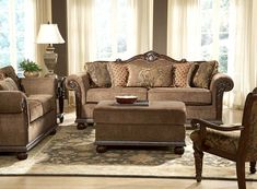 Living Room Sets Traditional great couch | tuscan decor | pinterest | couch set, wood trim and