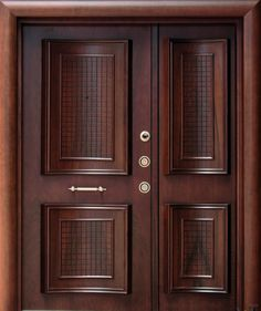 Can you imagine a house without doors? No matter how large or small a house is, well-made door design is essential to complete the structure. House Main Door Design, Wooden Front Door Design, Double Door Design, Door Gate Design, Door Design Interior, Interior Barn Doors, Front Door Entryway, Wood Front Doors, Wooden Doors
