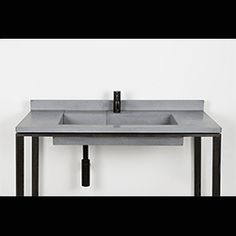 Spanning 22 colors across the spectrum, the freestanding Cora washbasin from Kast is outfitted with integrated splash back and hidden drainage in adherence with ADA and DDA regulations.