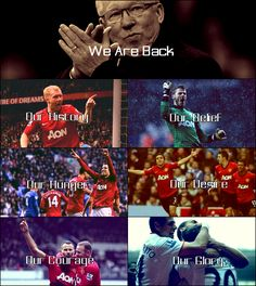 We are Manchester United Football Fever, Retro Football, Football Pictures, We Are Manchester, Manchester United Players, Soccer Teams, Soccer Stuff, Cos Man, United We Stand