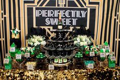 Little Big Company | The Blog: Great Gatsby Table by Perfectly Sweet