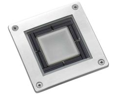 Solar Square Deck Light  £14.99  The Stainless Steel Square Decking Light looks superb by day and is surprisingly bright at night.