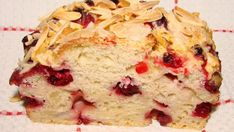 Almond Cranberry Bread - delicious but more like a biscuit consistency. Added fresh squeezed orange juice and no addl almonds or sugar on top. Holiday Bread, Christmas Bread, Holiday Baking, Christmas Baking, Christmas Cookies, Christmas 2014, Christmas Stuff, Christmas Gifts, Xmas