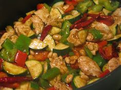 Kung Pao Chicken with Panda Express bottled sauce