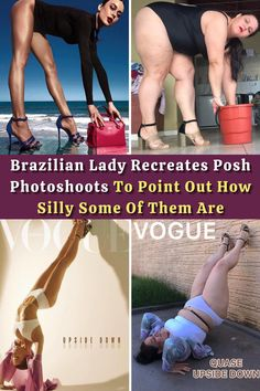 #Brazilian #Lady #Recreates #Posh #Photoshoots #Point #Silly Nose Jewelry, Hand Jewelry, Beautiful Lips, How To Feel Beautiful, Cute Baby Dogs, Cute Babies, Relationship Advice, Marriage Tips, Relationships