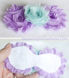 The best baby headband tutorial I have seen in awhile! Includes places to shop online for supplies