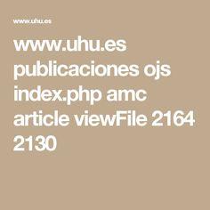 www.uhu.es publicaciones ojs index.php amc article viewFile 2164 2130