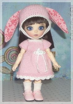 Lati Yellow PukiFee Luts Tiny Delf Dolls Pink by JCsTinyTreasures, $24.00